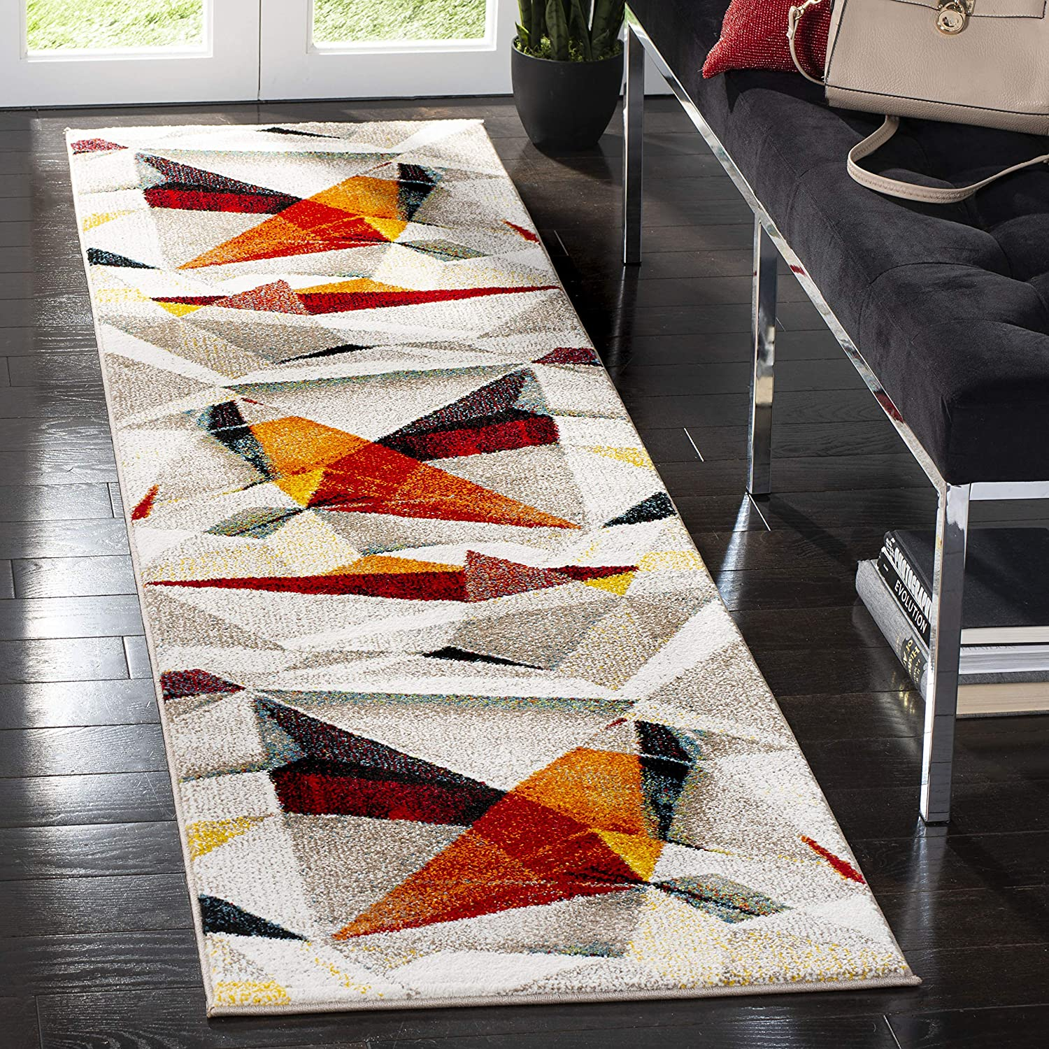 Safavieh Lowest Regular discount price challenge Porcello Collection PRL6940F Modern Abstract Non-Sheddi