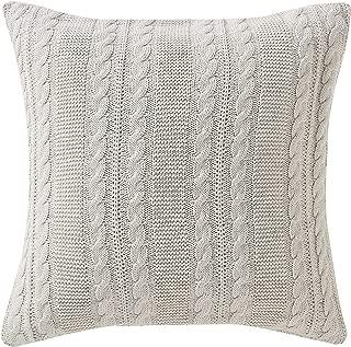 VCNY Home Dublin Euro Pillow Sham, 26x26, Ivory