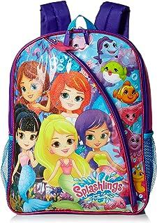 Splashlings Girls Backpack, Multi, One Size