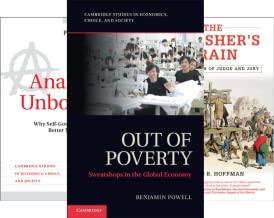 Cambridge Studies in Economics, Choice, and Society (18 Book Series)