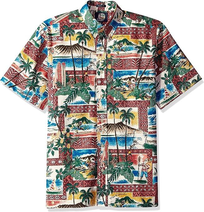 Reyn Spooner Men's Christmas Kloth Classic Fit Shirt,