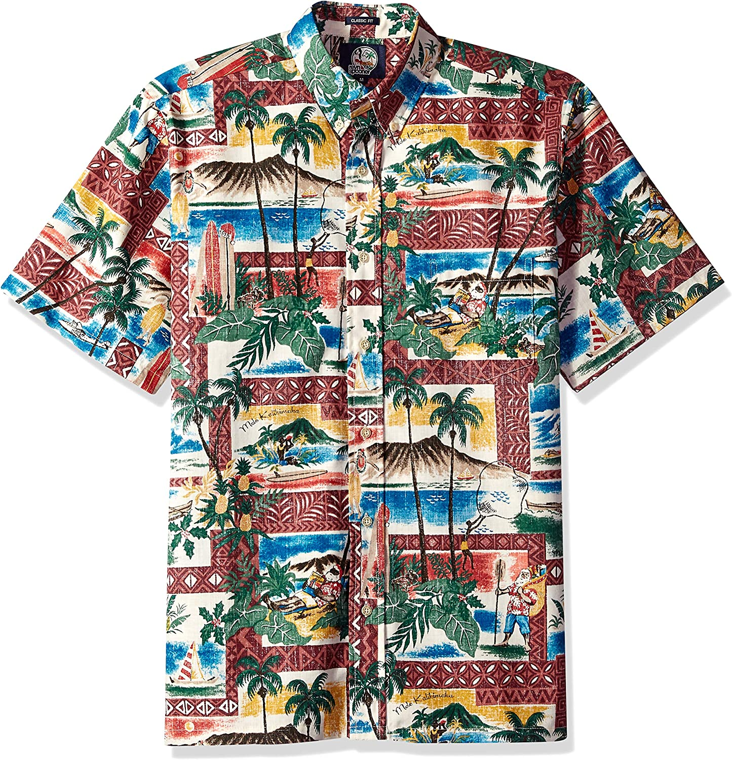 Reyn Spooner Men's Super-cheap Christmas Fit Classic Kloth Shirt Discount is also underway