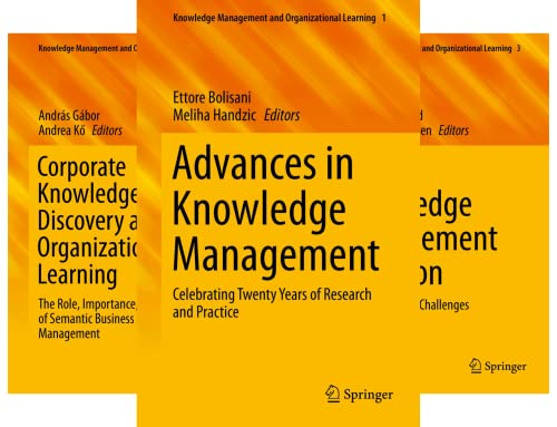 Knowledge Management and Organizational Learning (9 Book Series)