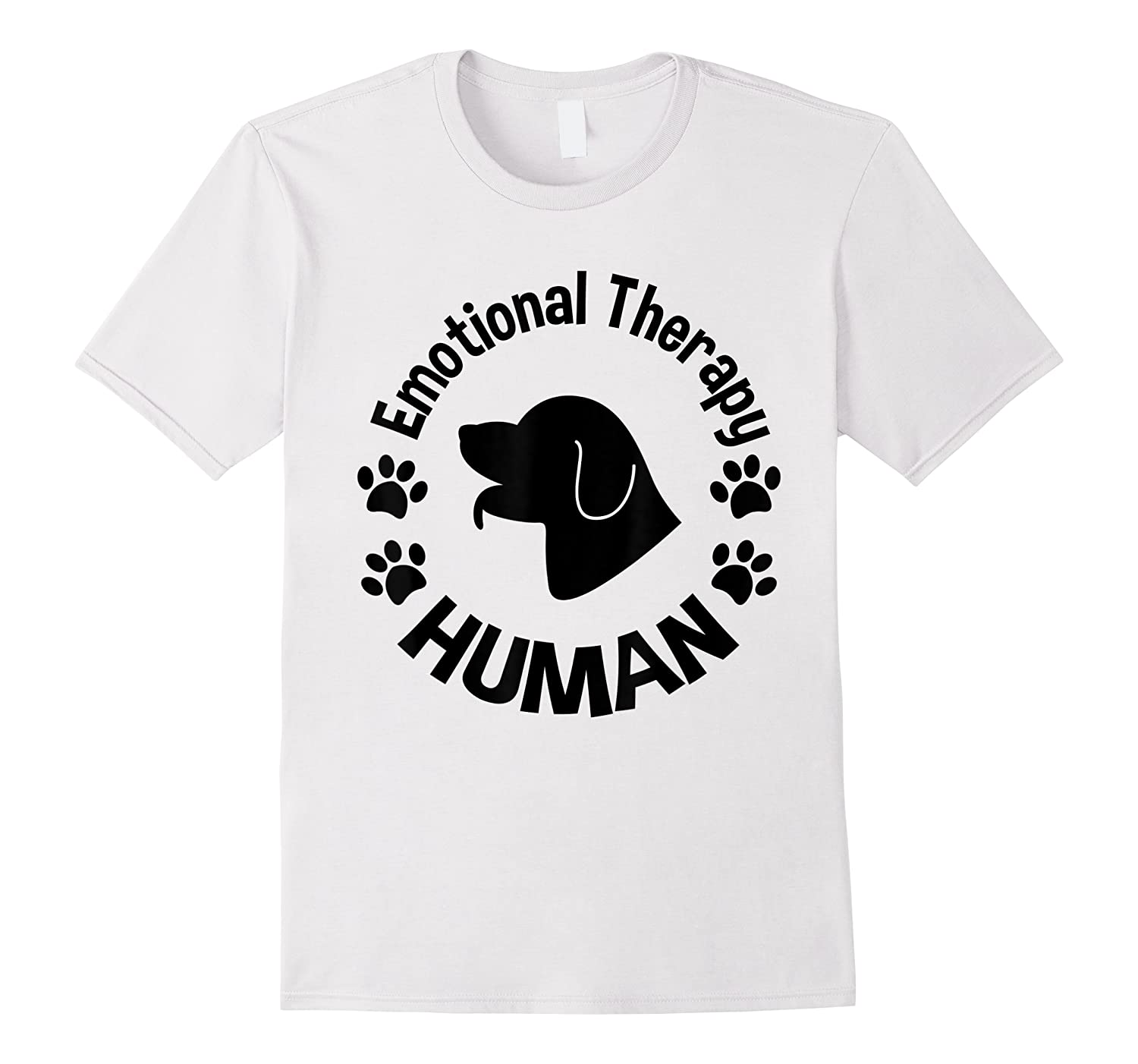 Emotional Therapy Human For Dog Lovers Doggie Gifts Shirts