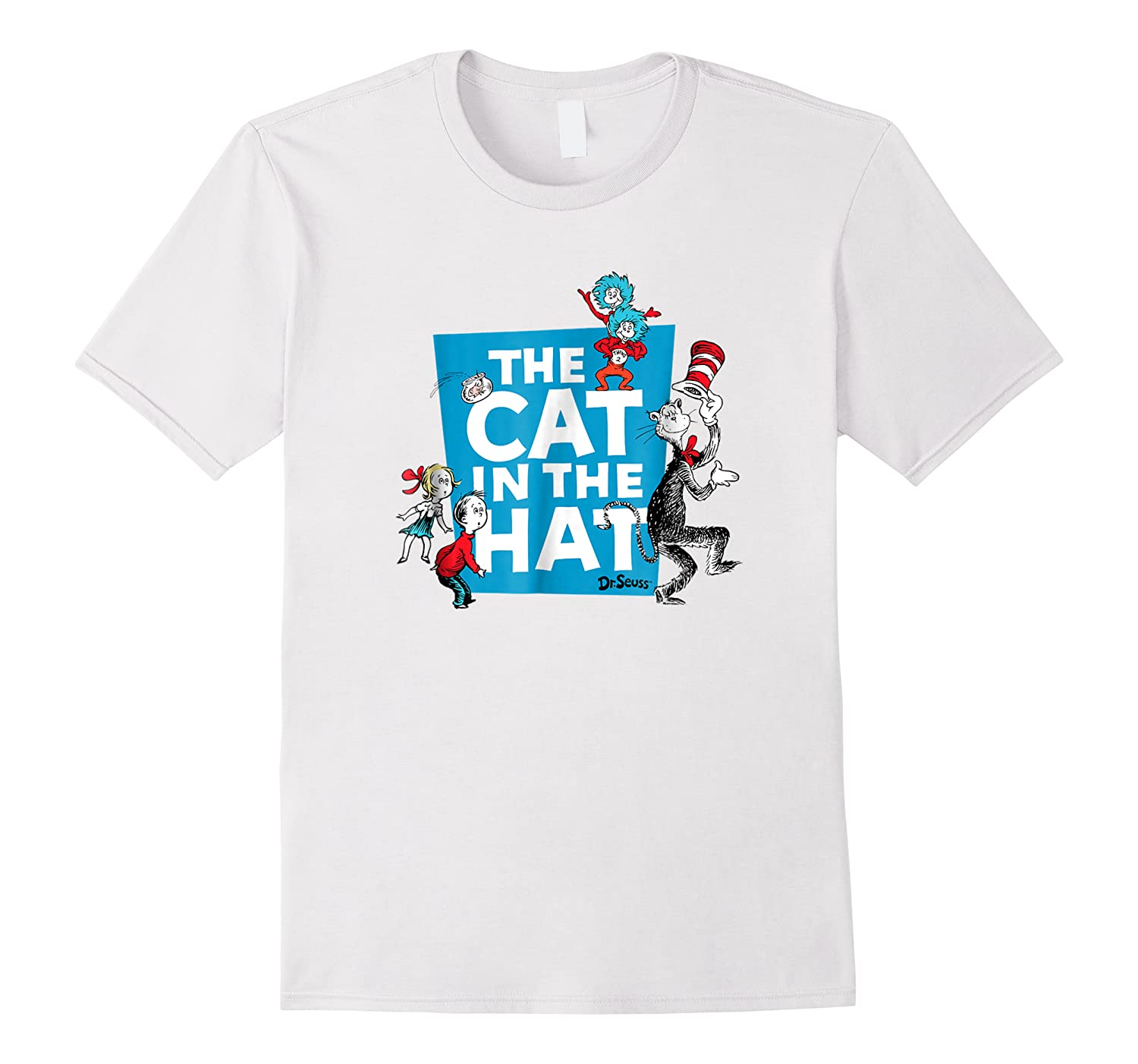 Dr Seuss The Cat In The Hat Characters Shirts