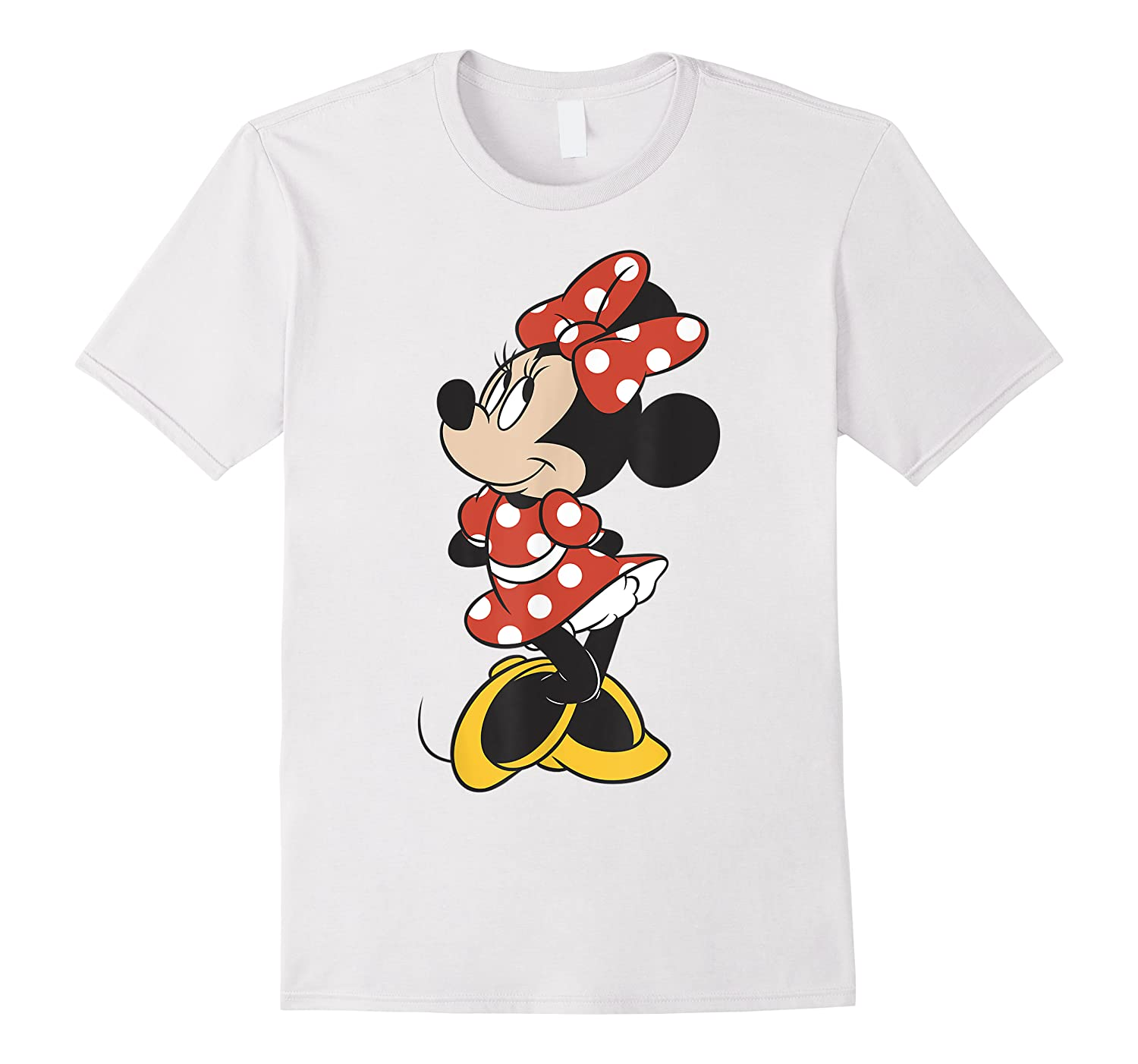 Mickey And Friends Minnie Mouse Traditional Portrait Shirts