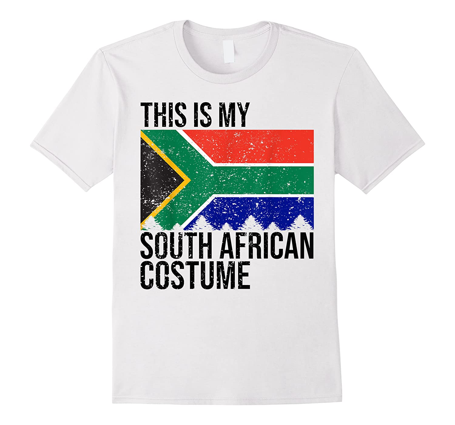 This Is My South African Flag Costume Design For Halloween Shirts