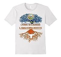 Texas Longhorns Living Roots Apparel Shirts White