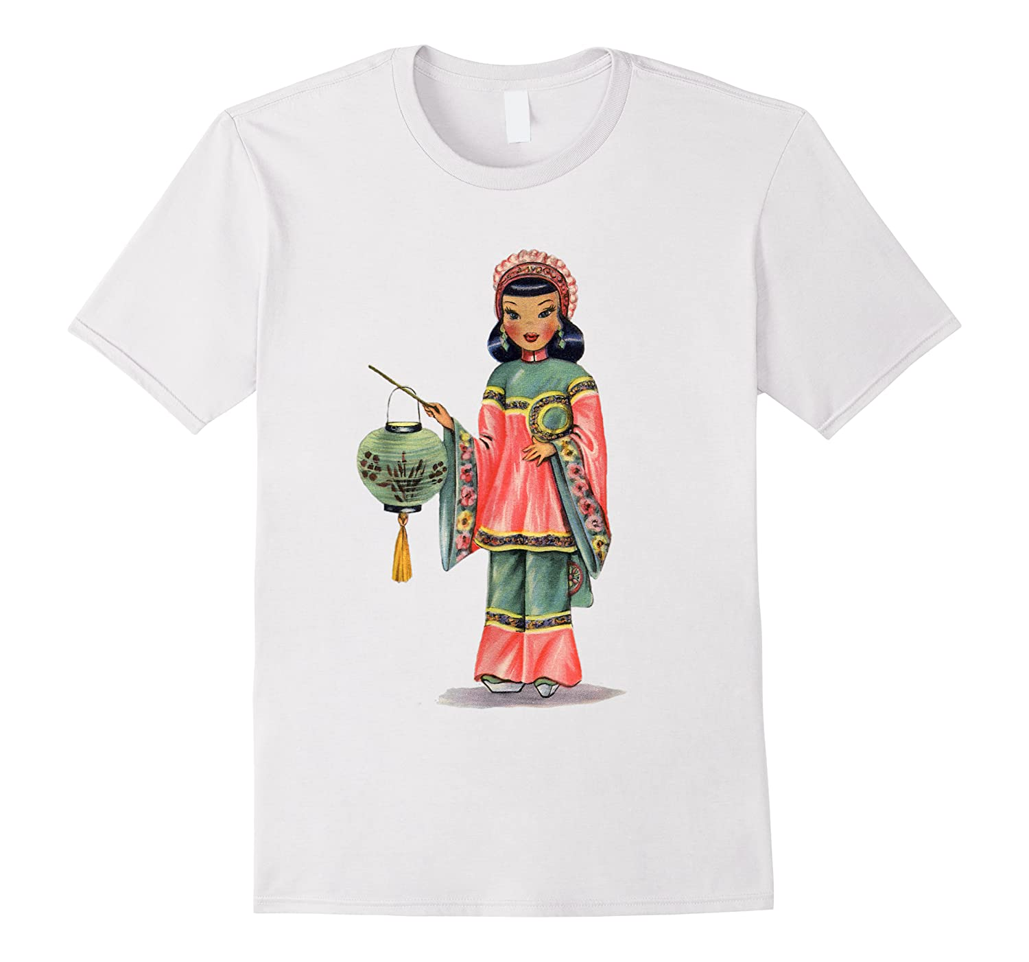 Vintage Traditional National Chinese Costume Doll Shirts