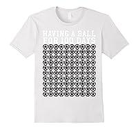 Soccer Ball 100 Days Of School Shirt Player Tea Boy Gift White