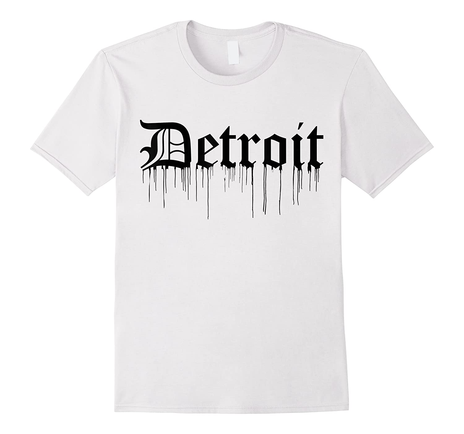 Detroit Tiger Paint Drip, Detroit Shirts