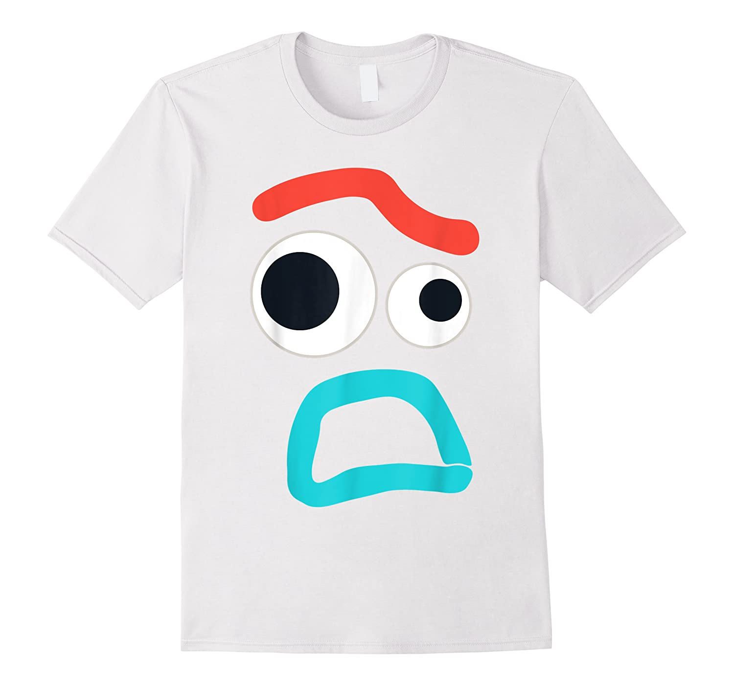 And Pixar Toy Story 4 Forky Timid Face Costume Shirts