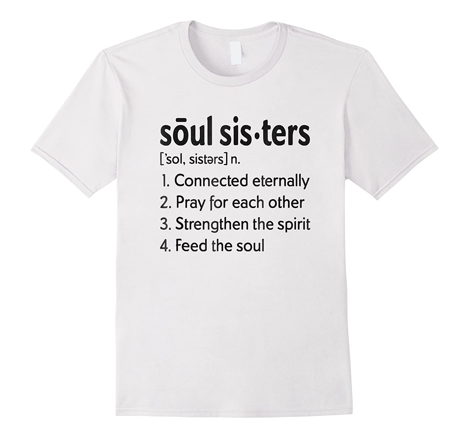 Soul Sisters Definition T Shirt For Girl