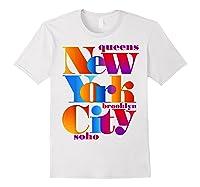New York City T Shirt Urban Nyc Fashion Style T Shirt Nyc T Shirt White