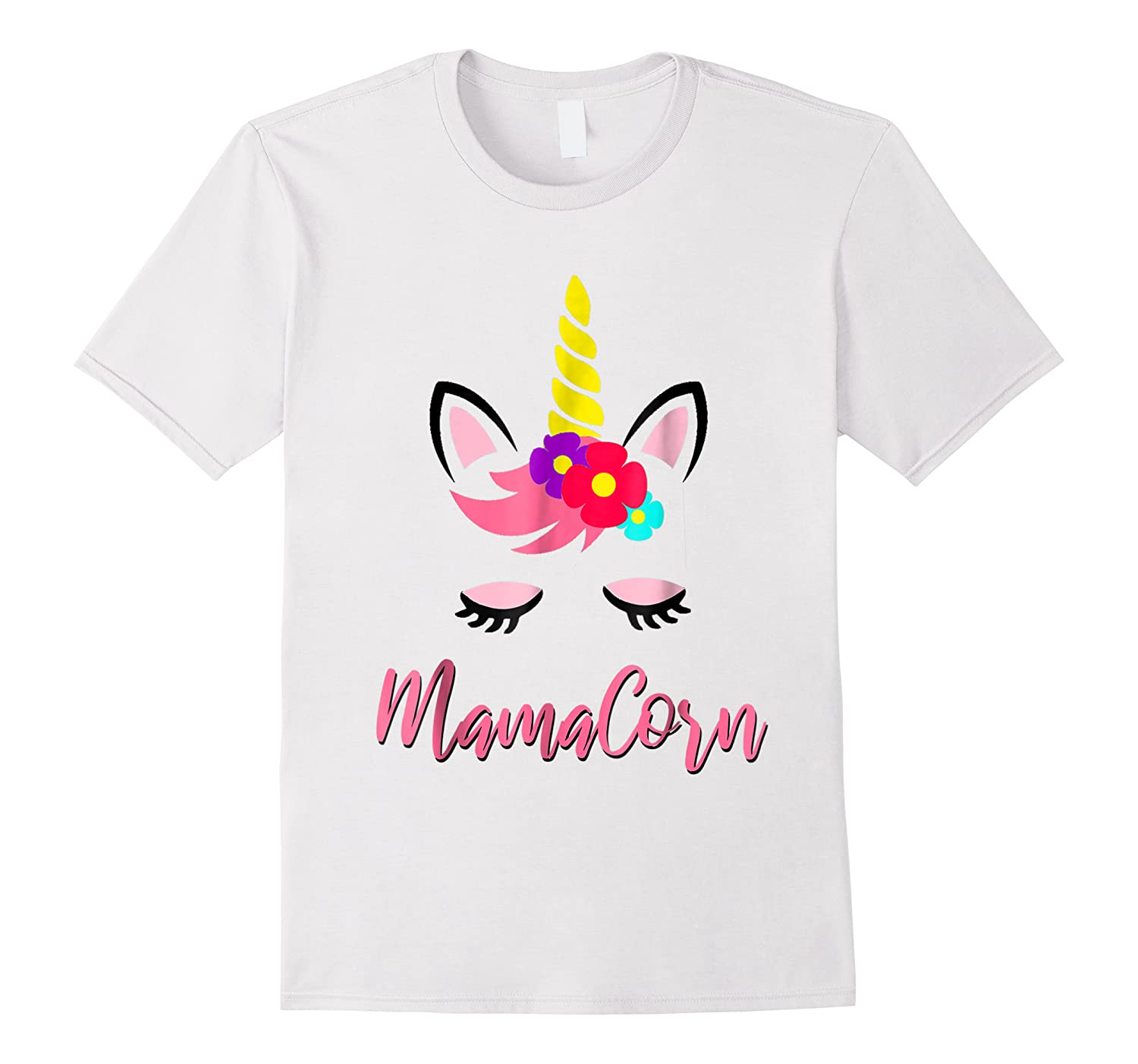 Mamacorn T Shirt Cute Funny Unicorn Gift For Mothers Day Mom
