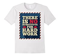 Happy Labor Day Hard Worker Cool Employee Gift Back Print T-shirt White