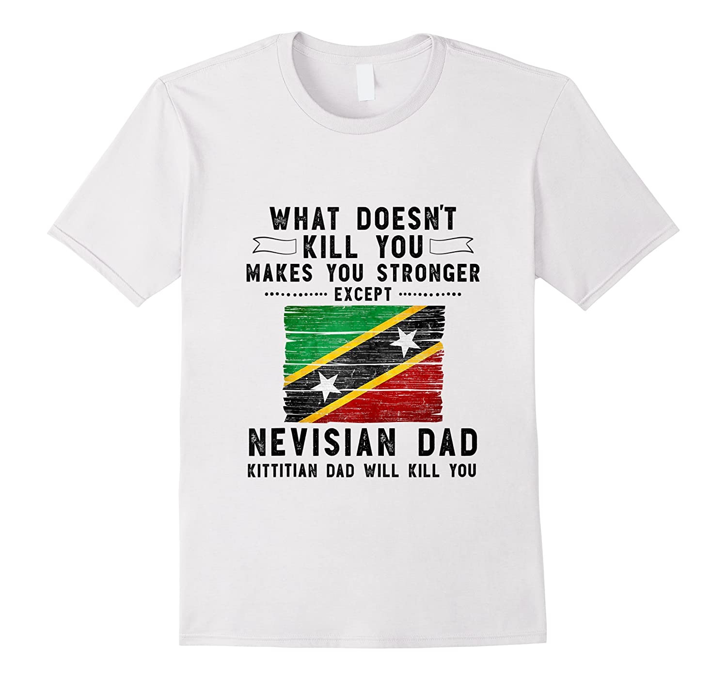 Saint Kitts Nevis Dad Gifts For Fathers Day Tank Top Shirts