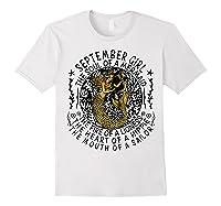 September Girl The Soul Of A Mermaid Tshirt Funny Gift T Shirt White