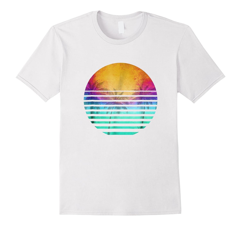 Vintage 80's Florida Beach Sunset Retro Shirts