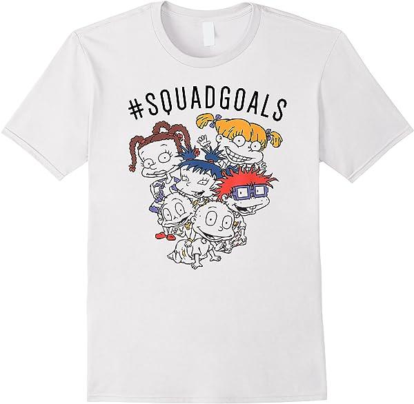 Rugrats Squad Goals T-shirt