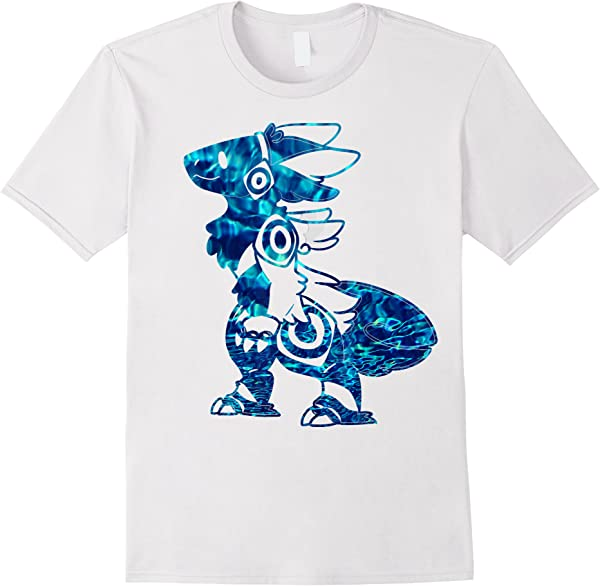 Protogen Fursuit Furry Blue Tie Dye Fursona T-shirt