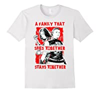 Black Widow Family That Spies Together Stays Together Shirts White