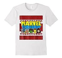 Avengers Classic Ugly Christmas Sweater Shirts White