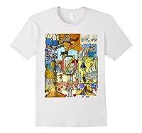 Wizard Of Oz Montage Shirts White
