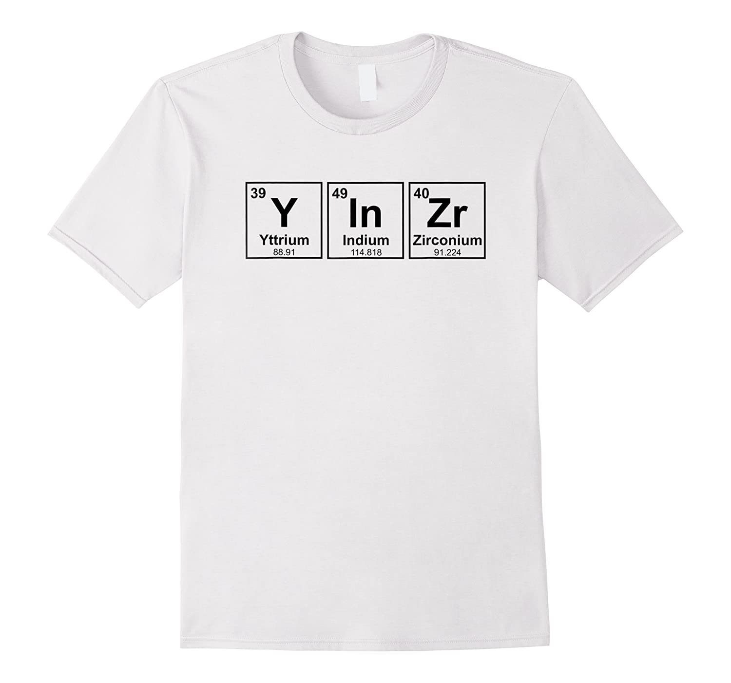 Yinzer Periodic Elements Funny Pittsburgh Shirts