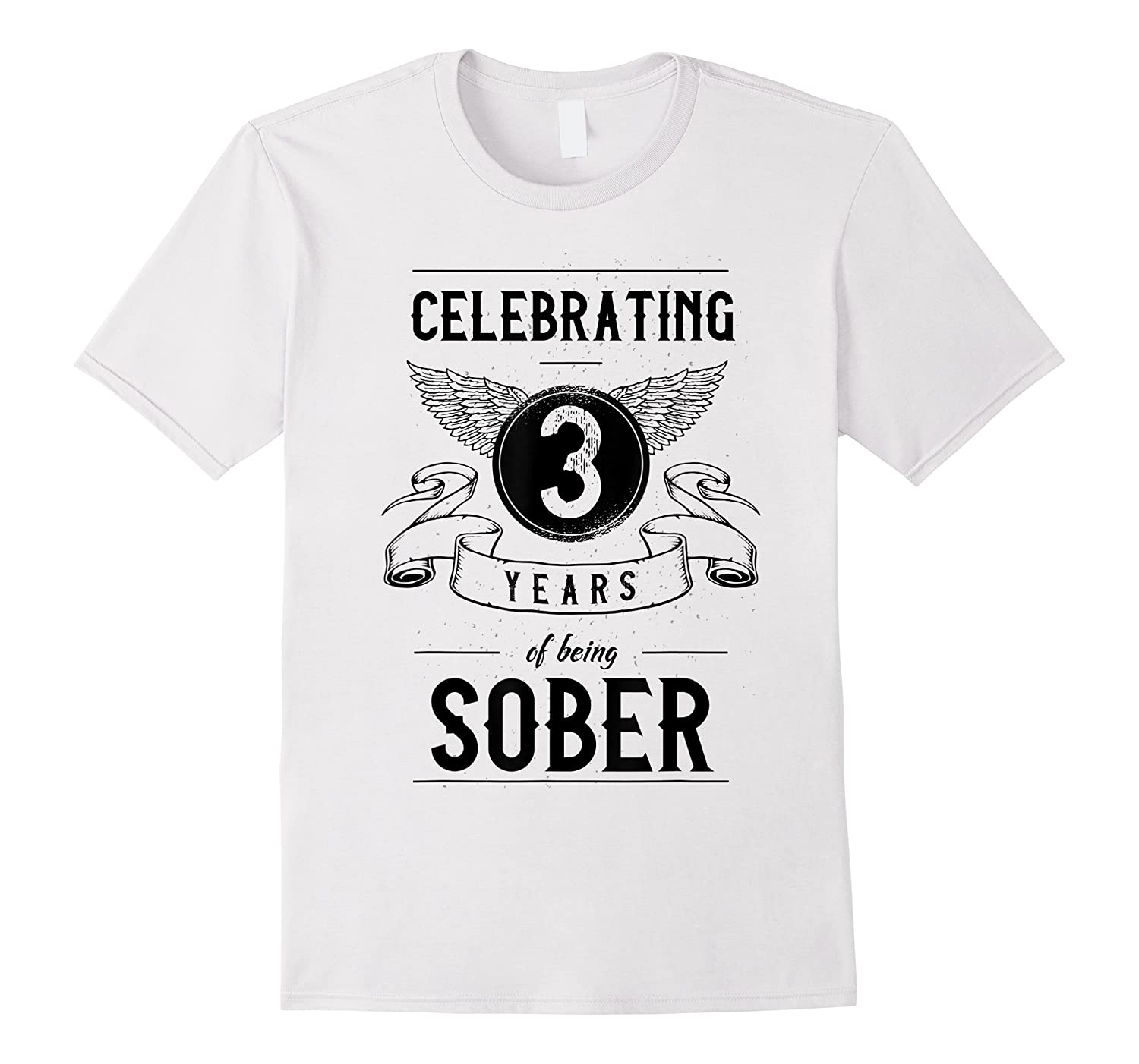 Sobriety Gift Recovery Anniversary 3 Years Sober Shirts