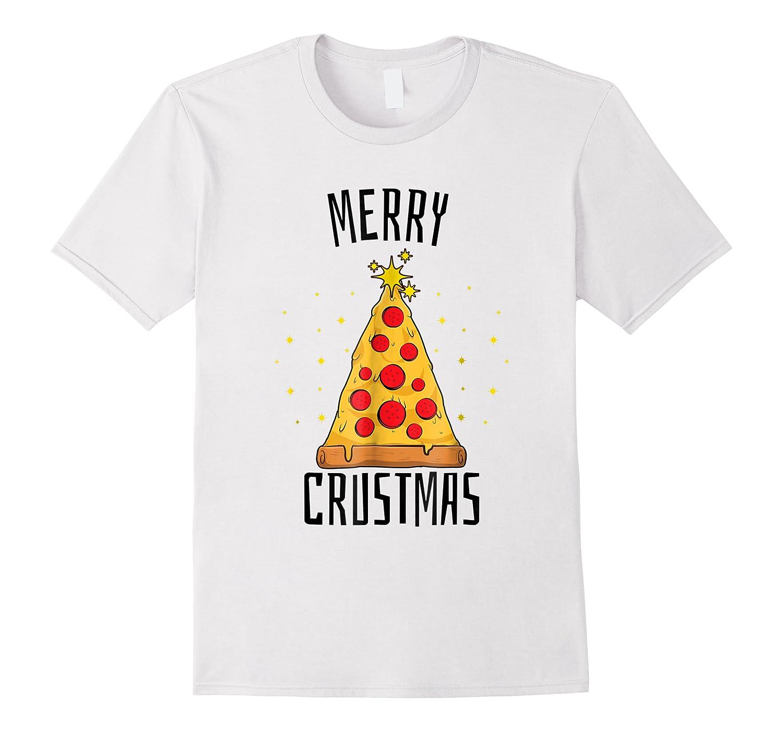 Merry Crustmas Pizza Pizza Lover Christmas Tree Shirts