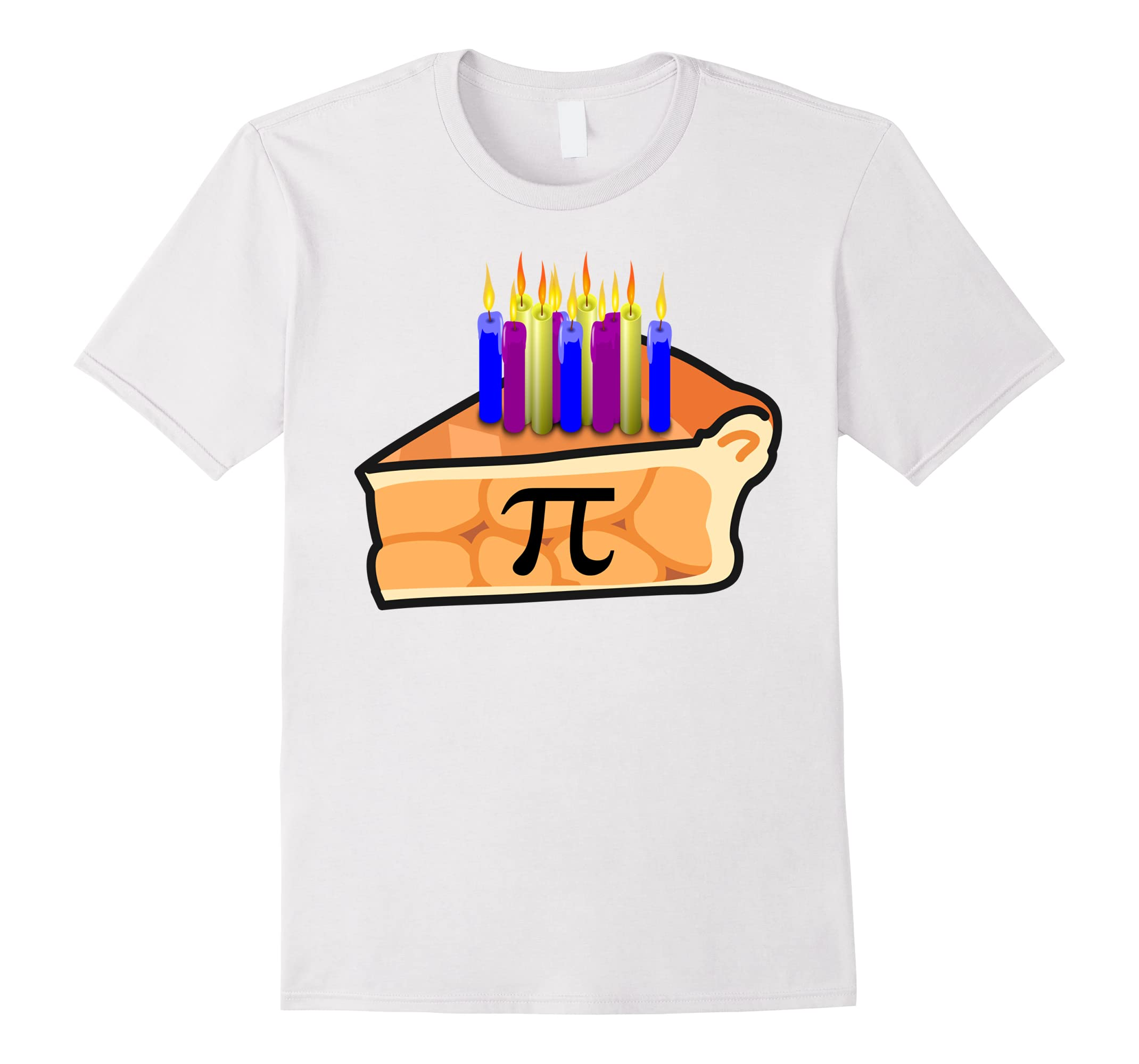 Birthday Shirt 3 14 18 Math Candles-Teesml