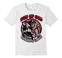 Knights Templar Tshirt Son Of God Warrior Of Christ White