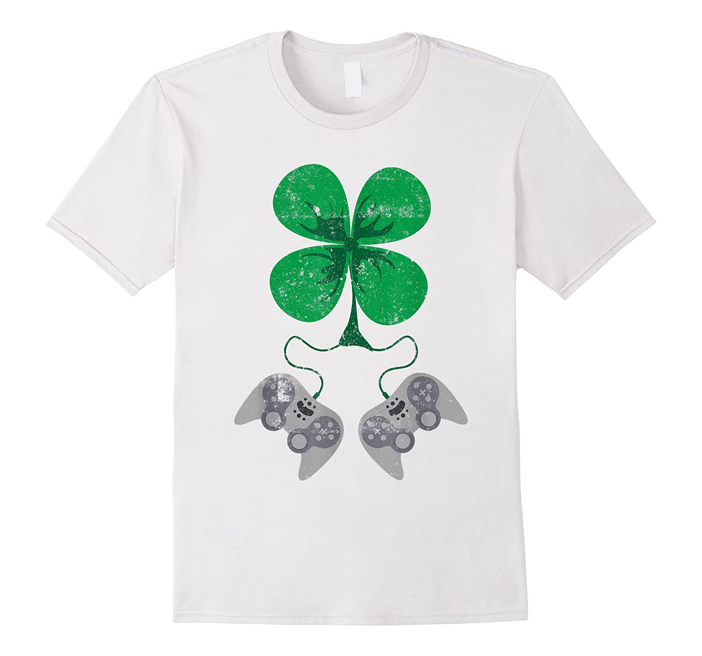 Video Game Gaming St Patricks Day Gamer For Boys Shirts