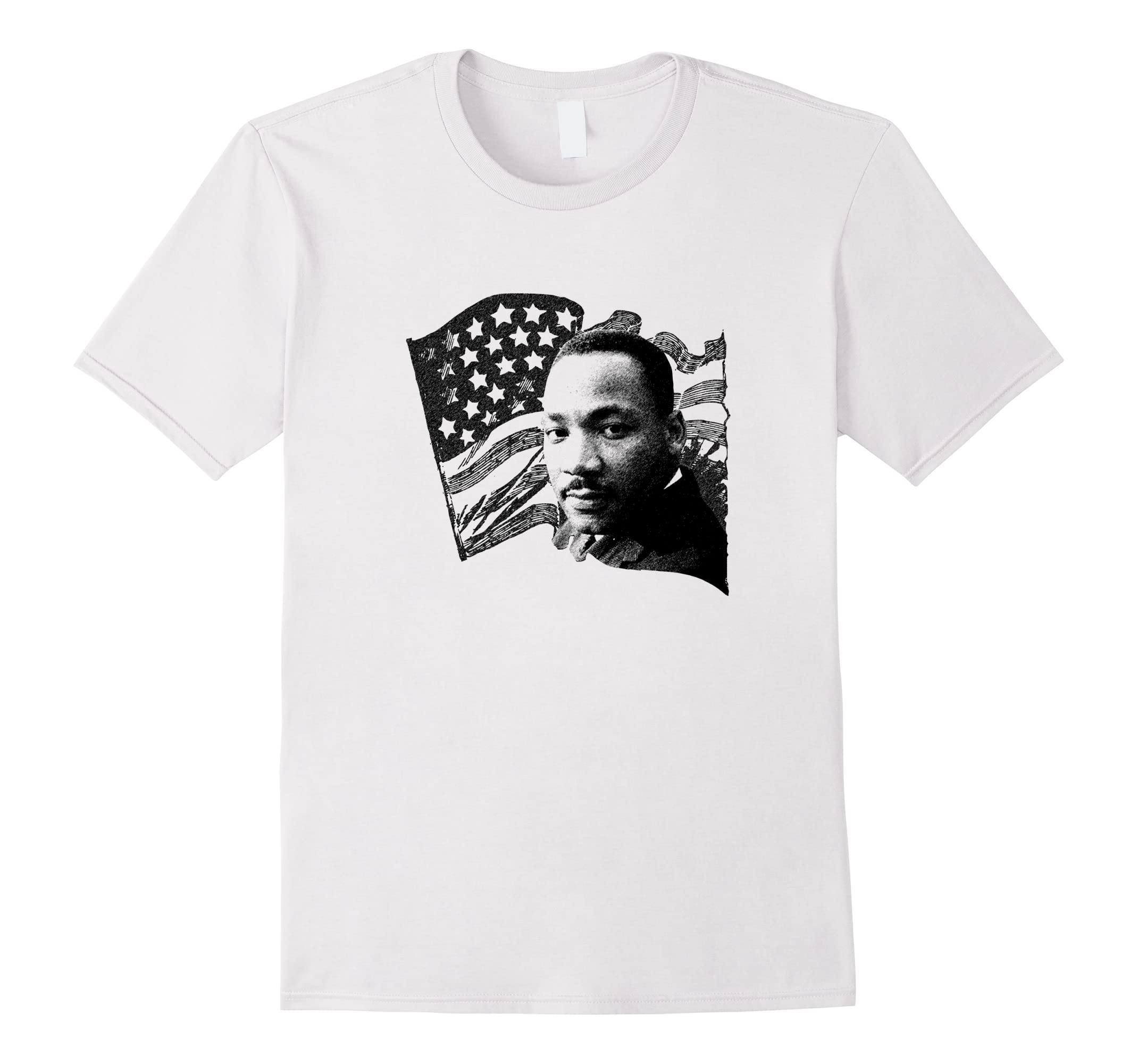 Martin Luther King Day Patriot Usa Flag Pride T Shirt Anz Anztshirt