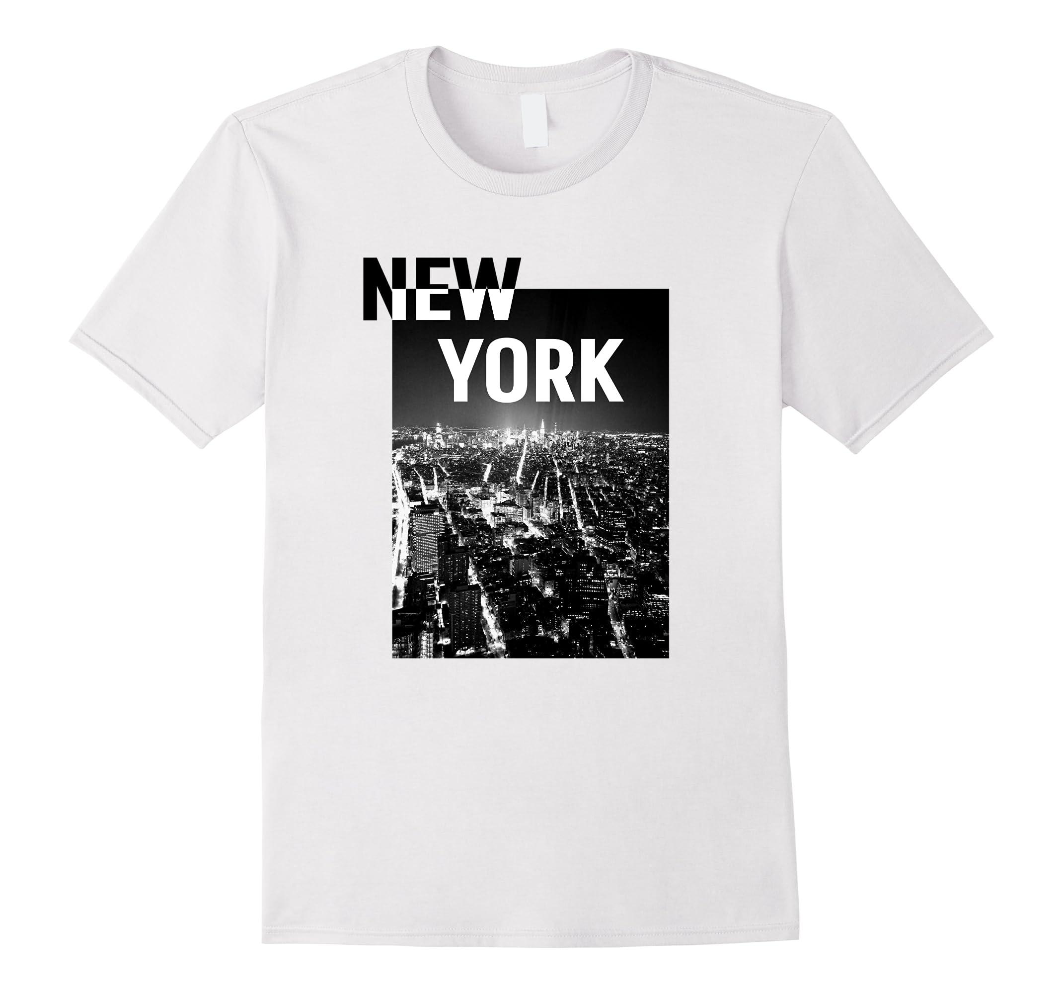 e162ab1df New York T-Shirt   New York TShirt T Shirt Gray Tee Shirt-RT ...