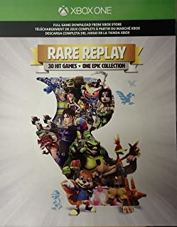 Rare Replay Full Game Download Card for Xbox One