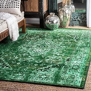 nuLOOM 200MCGZ01A-4106 Reiko Vintage Persian Area Rug, 4' 4