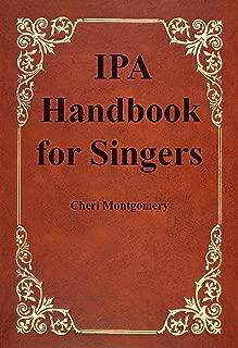 IPA Handbook for Singers
