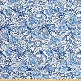 Best blue floral upholstery fabric Reviews