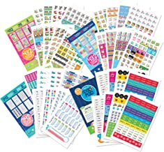 EPIC Planner Stickers Variety Bundle Set (Qty 1850) for Mom, Dad, Student, Teacher for..