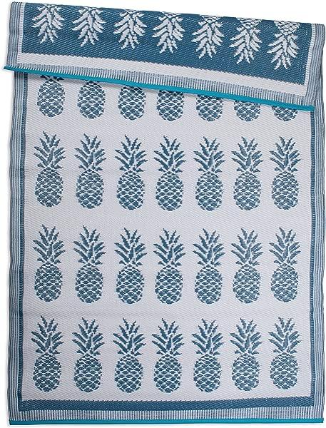 DII CAMZ10571 Outdoor Rug 4x6 Blue