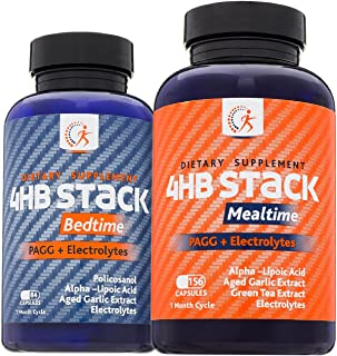 Sponsored Ad - Premium PAGG Stack by Kirkland Science Labs - PAGG + Electrolytes - For Slow Carb Diet - Accelerate Your We...