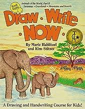 Draw Write Now Book 8: Animals of the World Part II: Grassland and Desert Animals