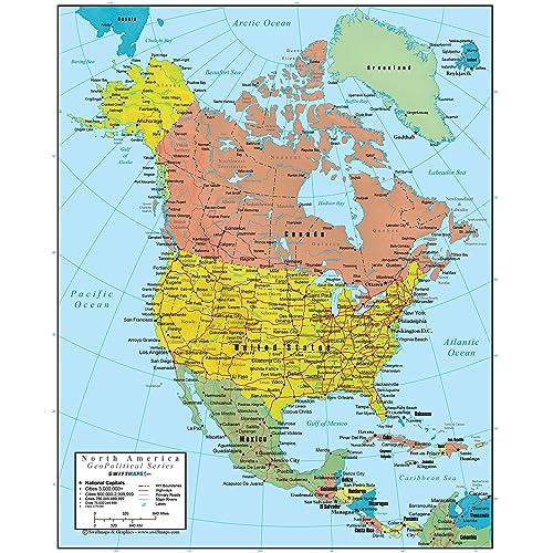 America Map: Amazon.com