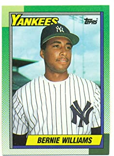 Lot of 50 1990 Topps Bernie Williams #701 Rookie Card RC - New York Yankees - Baseball Card