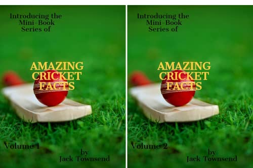 Amazing Cricket Facts (2 Book Series)