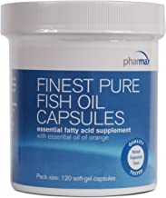 Pharmax - Finest Pure Fish Oil Capsules - Supports Cognitive Health and Brain Function* - 120 Capsules