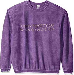 Women's Corded Sweatshirt, Purple, X-Large