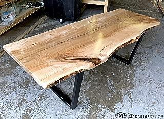 wood bar top, epoxy resin table, live edge hairpin table, epoxy table, live edge wood furniture, live edge wall shelf, live edge table walnut, epoxy wood table top